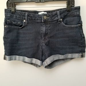 Paige Jimmy Jimmy Juliana Cuffed  Denim Shorts 29